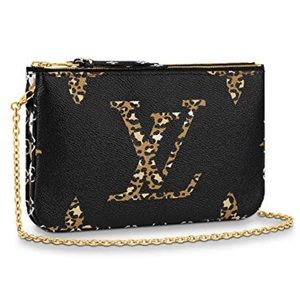 Louis Vuitton Jungle Pochette Crossbody Clutch Bag